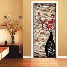 Adesivo Porta Vaso Autoadesivo Art Waterproof Door