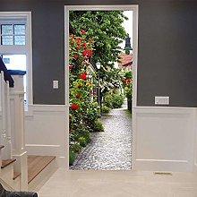 Adesivo Porta Vicolo Autoadesivo Impermeabile Door