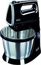 AEG SM3300 Sbattitore manuale 450W Nero, Argento