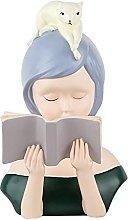 AERVEAL Desktop Scultura Ragazza Figurine