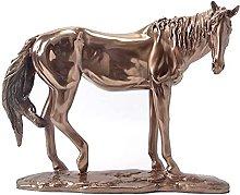 AERVEAL Scultura da Tavolo Statua Di Cavallo