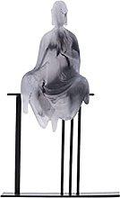 AERVEAL Statuetta Di Scultura da Tavolo Modello da