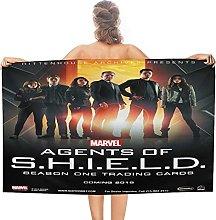 Agenti di SHIELD double face pile Asciugamani da
