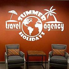 Agenzia Di Viaggi Vacanze Estive Adesivi Murali
