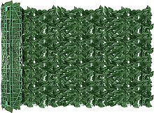 AGJIDSO Siepe Artificiale per Balconi, 1x3m Siepe