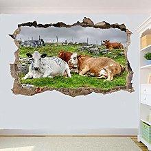 Agriturismo Domestico Animali Di Mucca Bovini