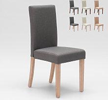 Ahd Amazing Home Design - Sedia in legno imbottita