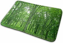 Ahdyr Landscapes Green Forest Tappetini da bagno