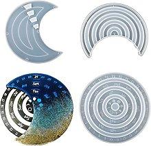 AIAIHU - Stampo per calendario lunare in silicone