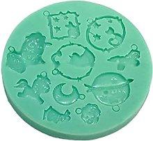 AIAIHU - Stampo per collana e ciondolo in resina