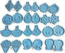 AIAIHU - Stampo per orecchini, in resina