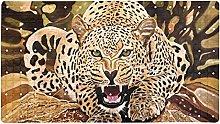 AIBILI Cool Leopard1 tappetino da bagno e doccia,