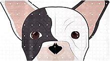 AIBILI - Tappetino da doccia con bulldog