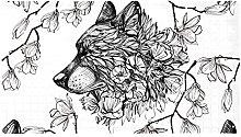 AIBILI Wolf - Tappetino da doccia antiscivolo,