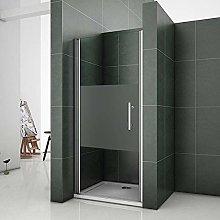 Aica 90x185cm porta doccia per nicchia porta