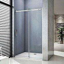 Aica box doccia a nicchia porta scorrevole