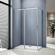 Aica box doccia porta scorrevole cristallo
