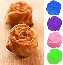 Aidou - Stampo per torte con rose, in silicone,
