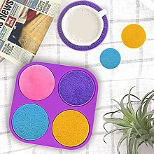 AIUII - Stampo in silicone per mandala Flower