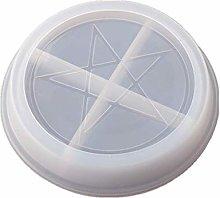 AIUII, stampo in silicone per pentacle Pentagram,