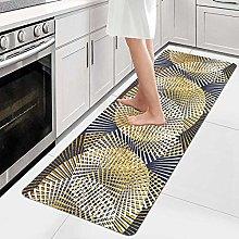AIYOUVM Tappeto Cucina Lavabile Tappeto di Design