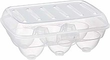 akestop® Porta Uovo 6 Posti Contenitore Plastica