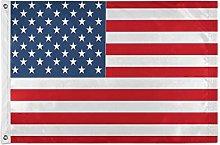 Alarge - Bandiera da giardino con bandiera