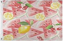 Alarge - Bandiera da giardino con frutto