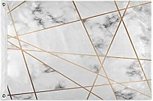 Alarge - Bandierine da giardino astratte in marmo