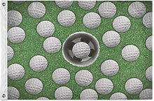 Alarge - Bandierine da giardino con pallina da