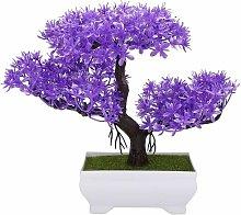 Albero artificiale dei bonsai Decorazione della