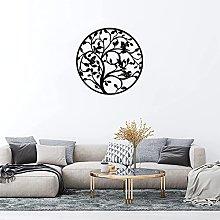 Albero Della Vita Decorazione Murale Metallo 3d