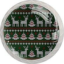 Albero di Natale Elk Cervo Verde Maglia Modello 4