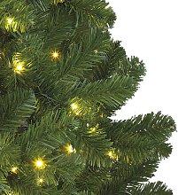 Albero LED Imperial da interni, verde, 210 cm