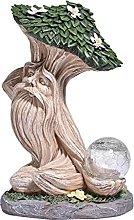 Albero Man Light Statue, 20 x 15 x 36 cm, albero