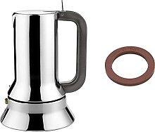 Alessi 9090/1 Caffettiera Espresso in Acciaio