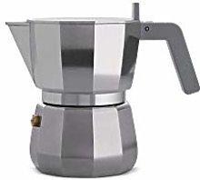 Alessi DC06/3 Caffettiera Espresso, Alluminio