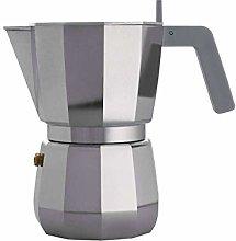 Alessi DC06/6 Caffettiera Espresso, Alluminio