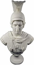 Alexander scultura il grande re macedone grande