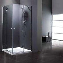 Alfa Box doccia ad angolo quadrato 80 x 80 cm ante