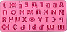 Alfabeto 3D Stampo In Silicone Lettere Stampo Per