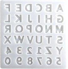 Alfabeto Cristallo Resina epossidica Stampo