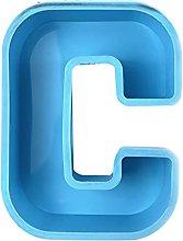 Alfabeto inglese Stampo in silicone Lettera Stampo