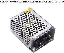 Alimentatore per strisce led 24V 25W contenitore