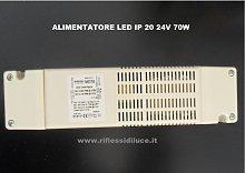 Alimentatore per  strisce led 24V 70W contenitore