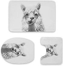 Alpaca Photograpgy Alpaca - Set di 3 tappetini da