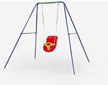 Altalena per bambini giardino con seduta in