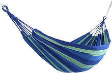 Amaca da giardino pensile in tela, blu