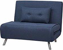 Amazon Basics - Poltrona letto, 100 x 91 x 91 cm,