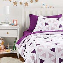 Amazon Basics - Set di biancheria da letto per
